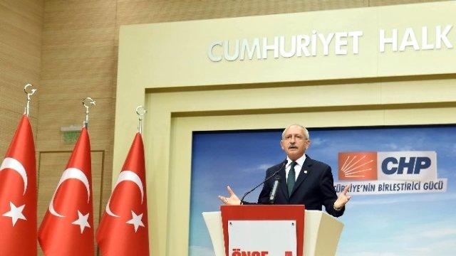 Kılıçdaroğlu, Başbakan Davutoğlu ile Görüşmesinin Ardından Açıklama Yaptı!