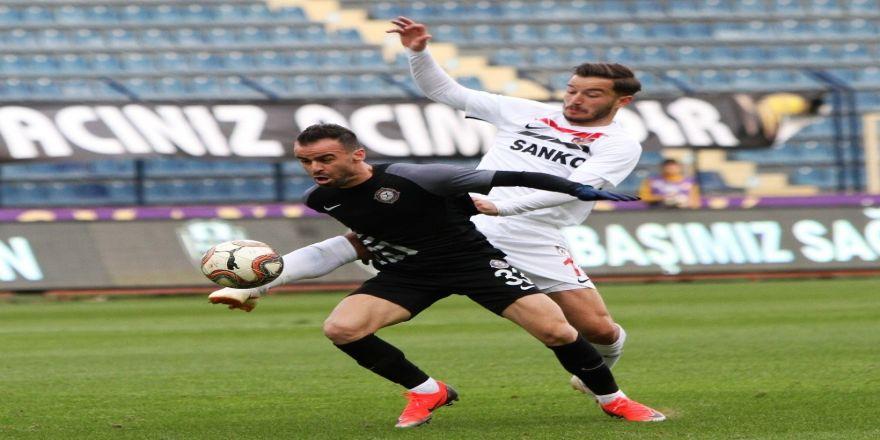 Osmanlıspor: 0 - Gazişehir Gaziantep: 1