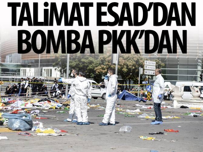 TALİMAT ESAD'DAN BOMBA PKK'DAN !