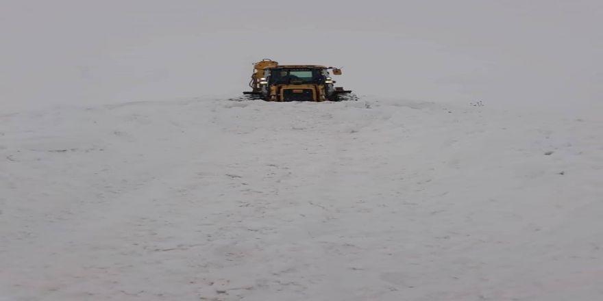Özalp İlçesinde Kar Tatili