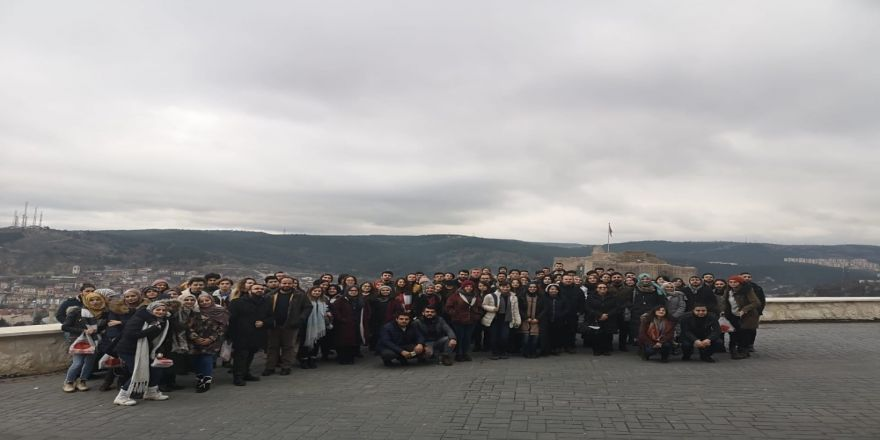 Karabük Üniversitesi Mimarlık Fakültesi Öğrencileri Kastamonu'yu Gezdi