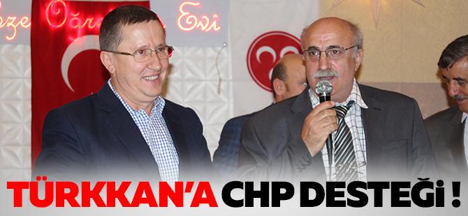 Tükkan'a CHP'li desteği