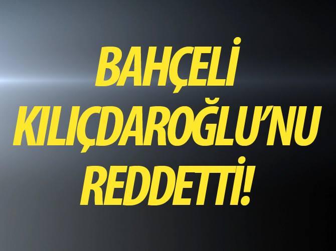 BAHÇELİ'DEN BİR HAYIR DAHA !