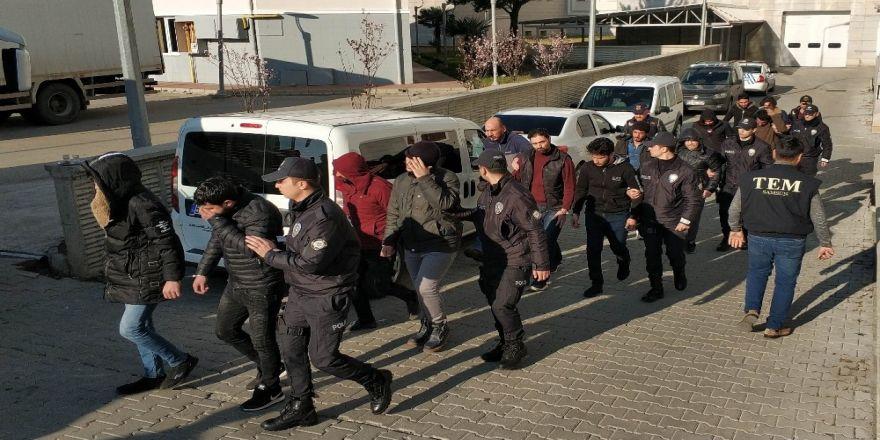 Samsun'da Deaş'tan 24 Şüpheli Adliyede