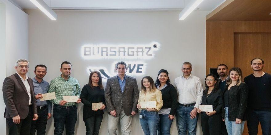 Bursagaz, Çalışanlarının Yenilikçi Fikirlerini Ödüllendirdi