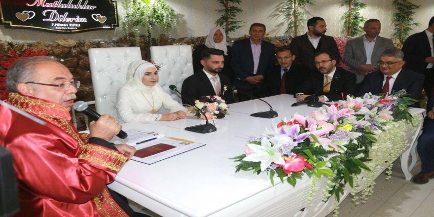 Bakan Kasapoğlu Türkü Söyledi, Nikah Şahidi Oldu