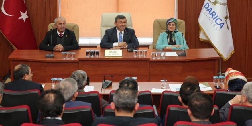 Darıca'da son meclis toplantısı