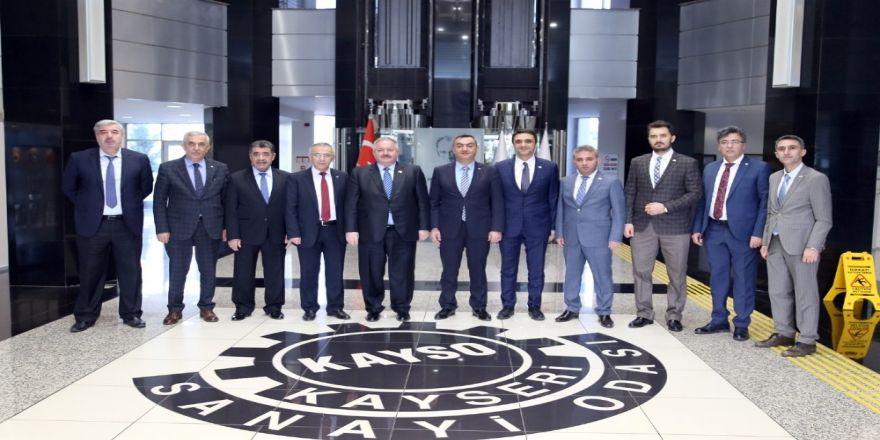 Kayseri Osb'nin Yeni Yönetiminden Kayso'ya Ziyaret