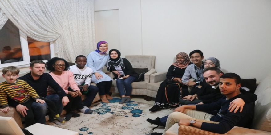 Uluslararası Öğrenciler Türk Misafirperverliğini Yakından Gördü