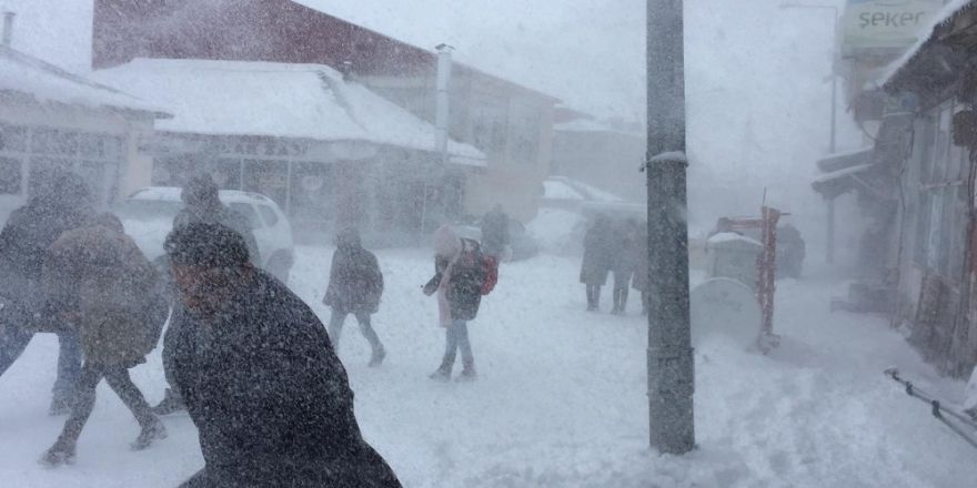 Kar Ve Tipi Etkili Oldu, Okullar Tatil Edildi