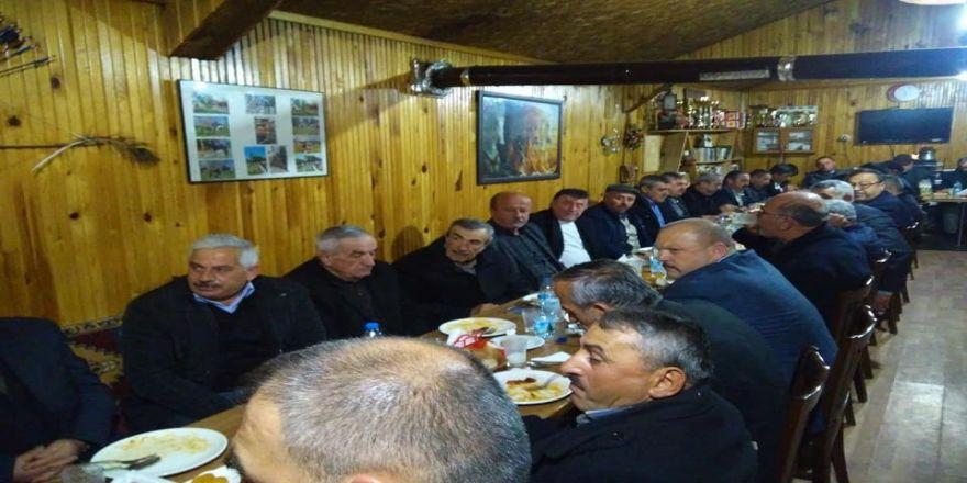 Mhp İl Başkan Aydın, Daday'da Muhtarla Bir Araya Geldi
