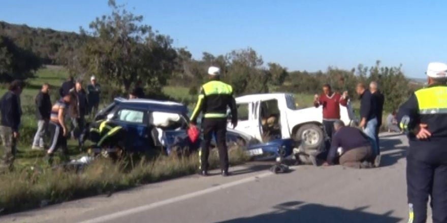 Kazada Yaralanan Çocuğuna Yetişmeye Çalışırken Bir Başka Kazada Öldü