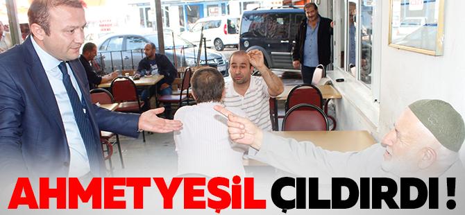 MHP'li Ahmet Yeşil çıldırdı