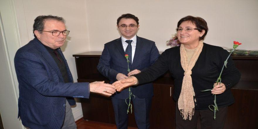 Akseki'de Kadın Personellerin Günü Kutlandı