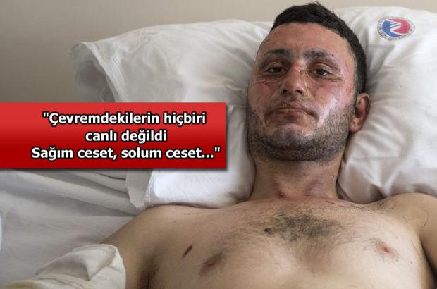 Ankara'da bombaların ortasında kaldığı o anı anlattı!