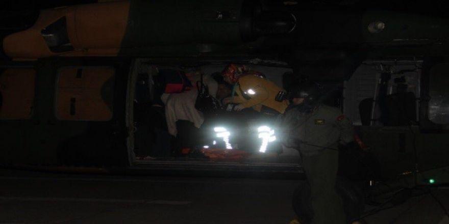 Bingöl'de Askeri Helikopter, Hamile Kadın İçin Havalandı