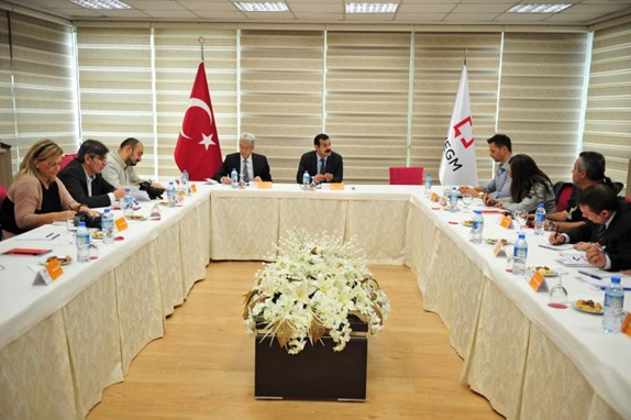 Hırvatistanlı gazeteciler Türkiye'de