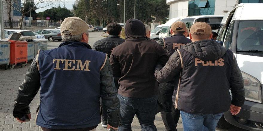 Samsun'da Deaş'tan 2 Zanlı Tutuklandı