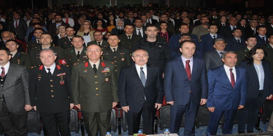 Mardin'de İstiklal Marşı'nın Kabulü Ve Mehmet Akif Ersoy Anıldı