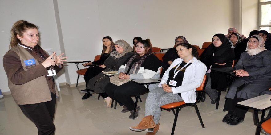 Suriyeli Kadınlar Çocuk Yaşta Evliliklere Karşı Bilinçleniyor