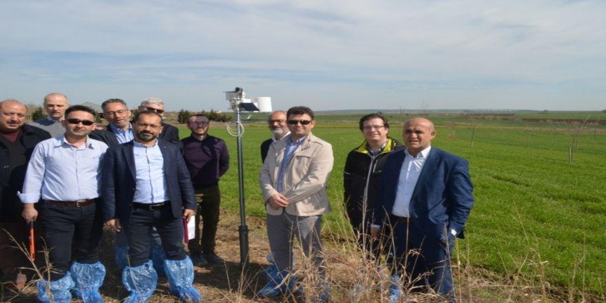 Tekirdağ'da Tarımsal Meteoroloji Ve Diğer Çevresel Koşulları İzleme İstasyonu Kuruldu