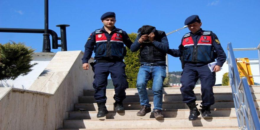 Kablo Hırsızı Tutuklandı
