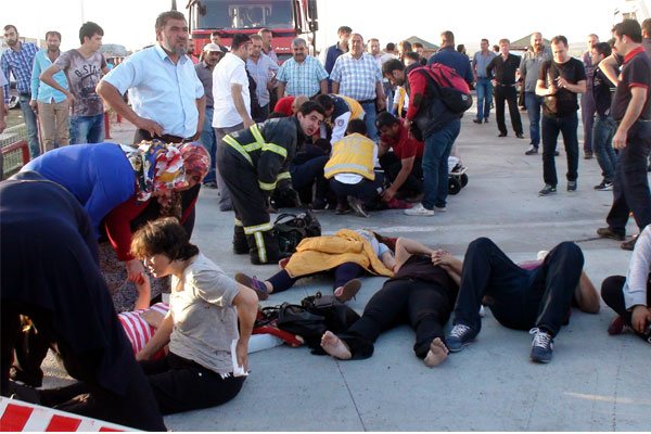 Trafik faciası: 7 ölü, 51 yaralı