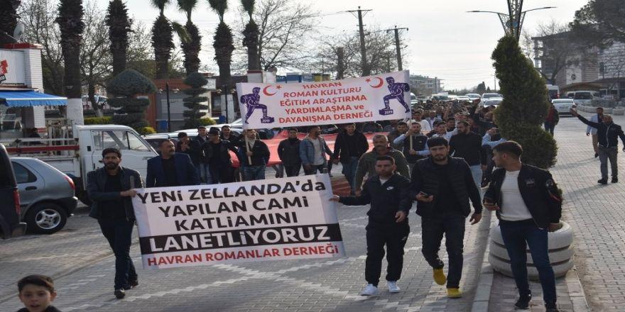 Havran'da Yeni Zelanda'daki Terör Saldırısı Protesto Edildi
