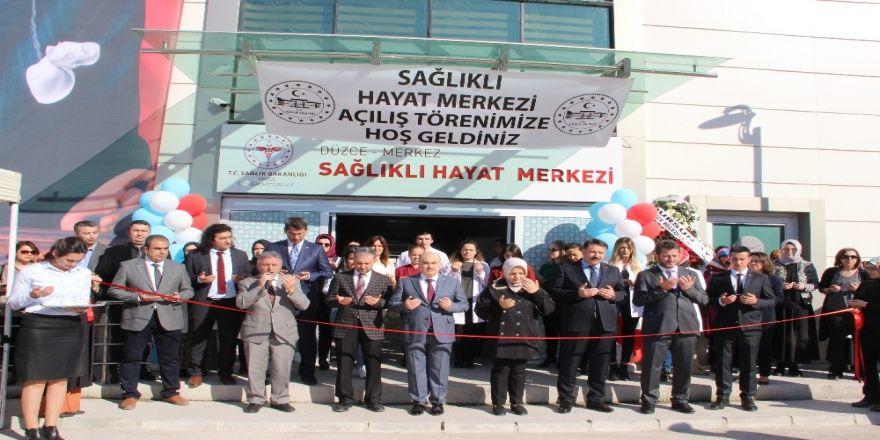 Sağlıklı Hayat Merkezi Açıldı