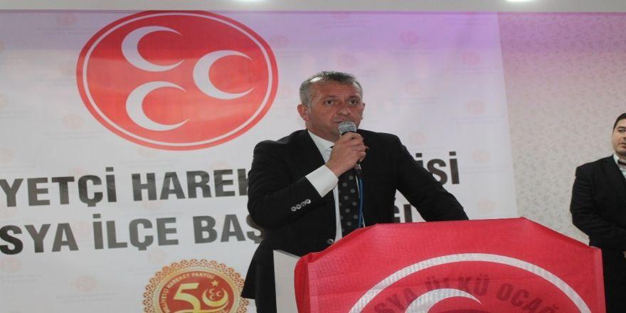 Mhp İl Başkanı Aydın, Tosya İlçesini Ziyaret Etti