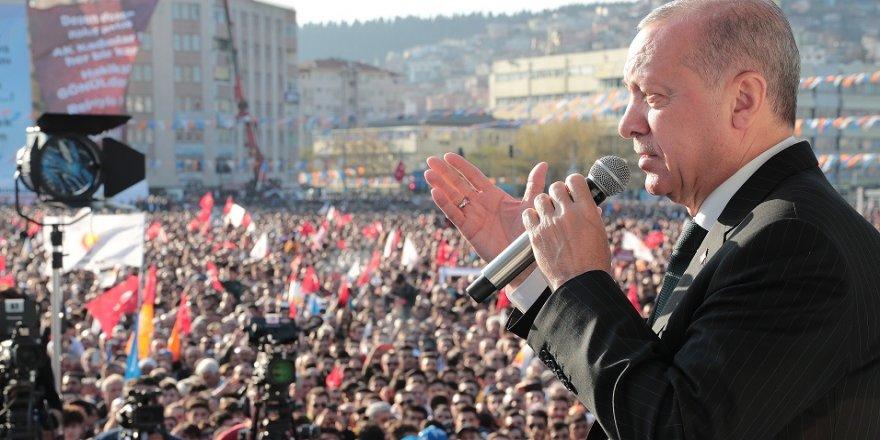 Erdoğan, Kocaeli'dekonuştu