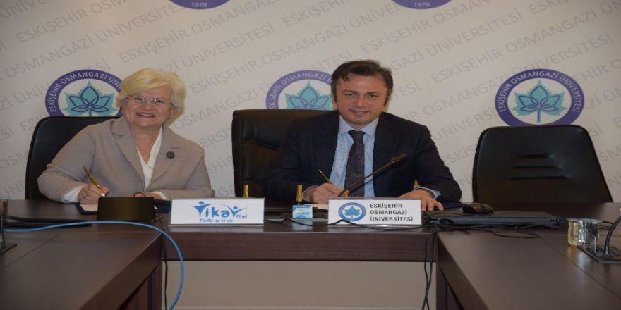 Esogü İle Tikav Arasında İşbirliği Protokolü İmzalandı