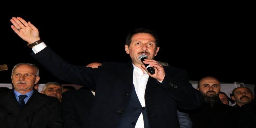 """Başkan Tok: """"Karadeniz'e Silahla Giremeyen Pkk, Belediyelere Kravatlı Girmenin Hesaplarını Yapıyor"""""""