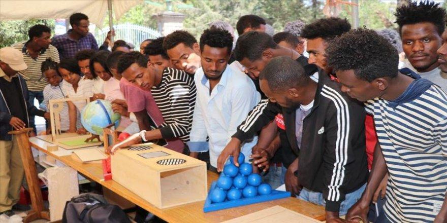 YEE'nin Mobil Matematik Müzesi Etiyopya'da