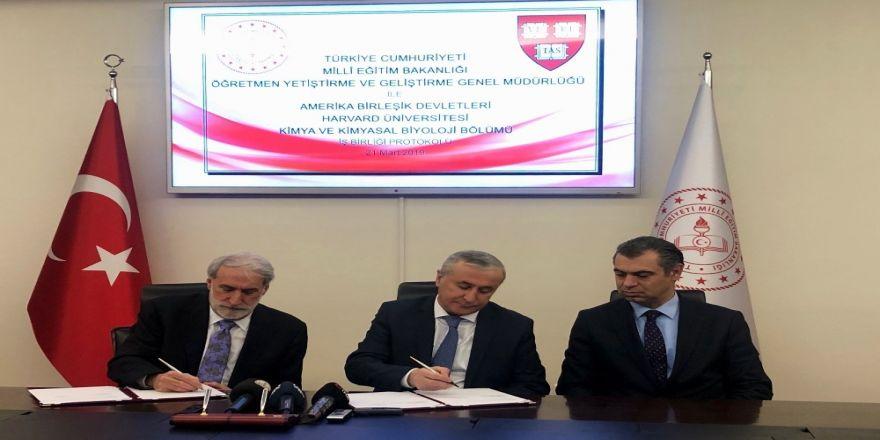 Milli Eğitim Bakanlığı Ve Harvard Üniversitesi Arasında Protokol İmzalandı