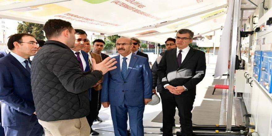 Mobil Eğitim Merkezi Açıldı