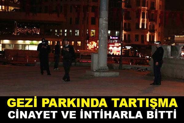 Gezi Parkı'nda intihar!