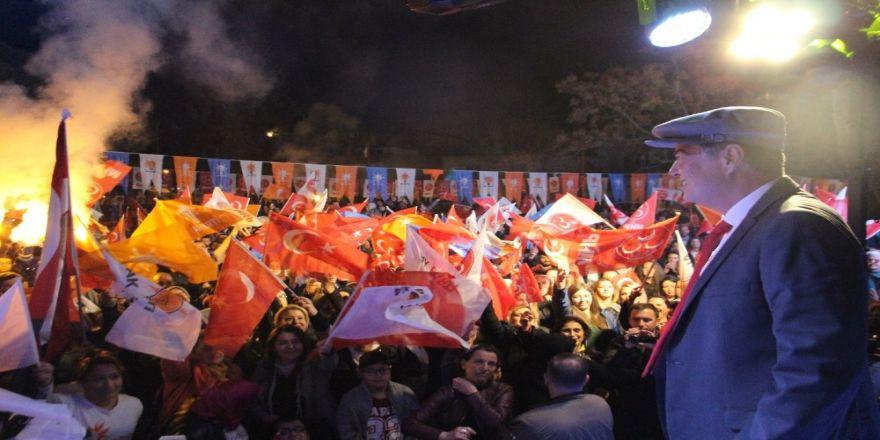 Fuat Akdoğan, İlk Mitingini Soğucak'ta Gerçekleştirdi