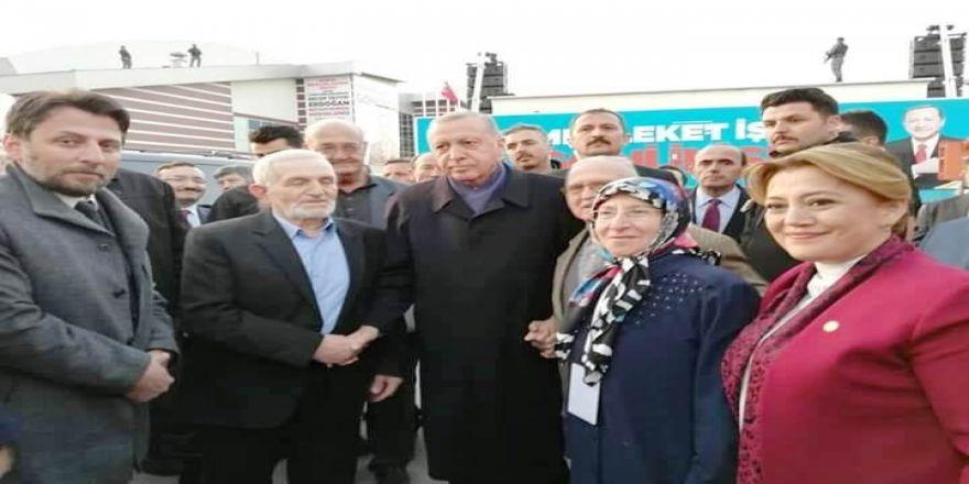 Cumhurbaşkanı Erdoğan'ı Dünya Gözüyle Görme Fırsatı Buldular