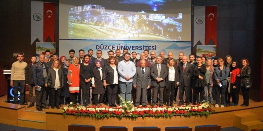 Düzce Üniversitesi'nde Kıbrıs Barış Harekatı Konuşuldu