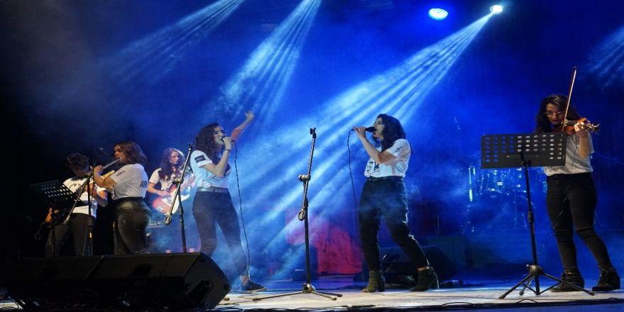 Mezitli Belediyesi 2. Liseler Arası Müzik Yarışması Yapıldı