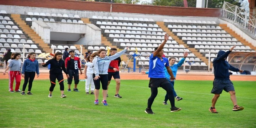 Tokat'ta Spor Seferberliği