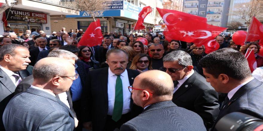 """İyi Parti Genel Başkan Yardımcısı Salimensarioğlu: """"Devletin Kurumları Vardır, Partisi Yoktur"""""""