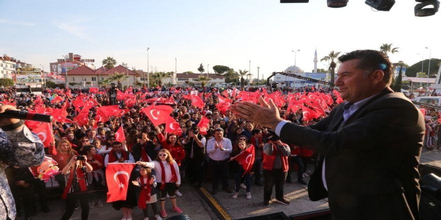 Mehmet Kocadon, Büyük Halk Buluşmaları Dalaman'dan Başladı