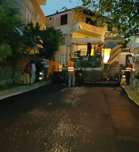 Dilovası Belediyesi'nden asfalt seferberliği