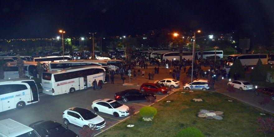 Aliağa'dan Çanakkale'ye Üçüncü Kafile Uğurlandı