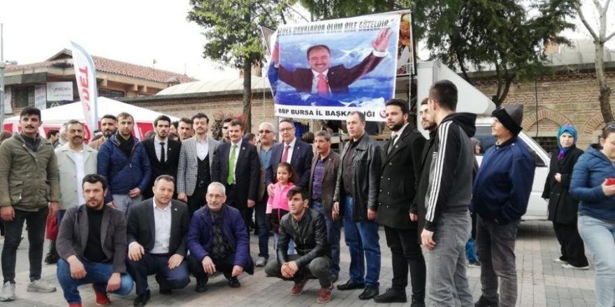 Muhsin Yazıcıoğlu'na Dua
