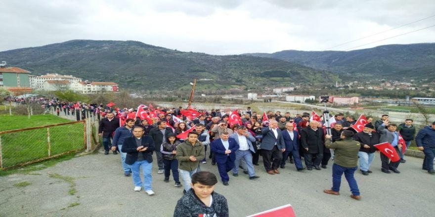 """Başkan Çaylı : """"Biz Halkımızla Yol Alıyoruz"""""""