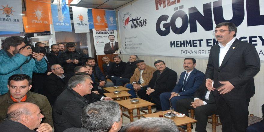 """Ak Parti Genel Başkan Yardımcısı Yılmaz: """"4 Partinin Amacı Türkiye'nin İstikrarını Bozmak"""""""