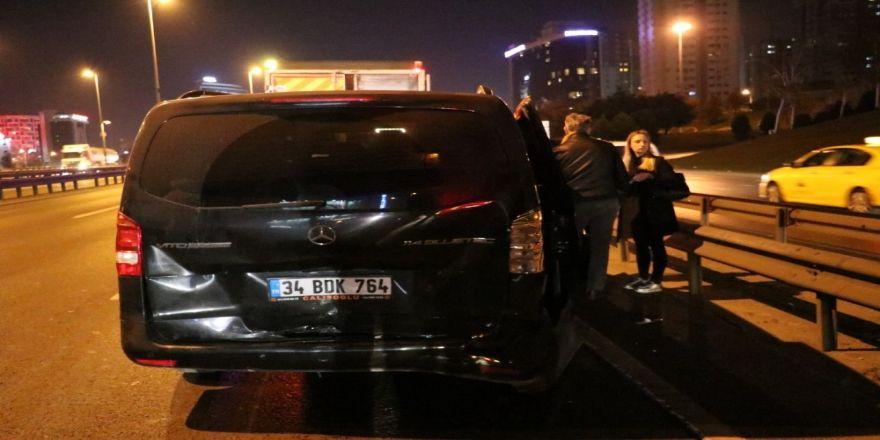 Zeytinburnu'nda Trafik Kazası... 5 Yaralı